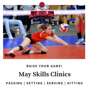 blocksport volleyball club may clinics