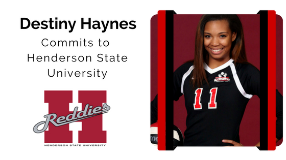 Destiny Haynes blocksport volleyball club