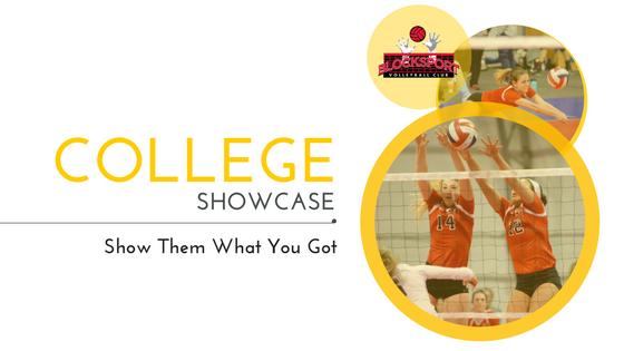 blocksport volleyball club college showcase