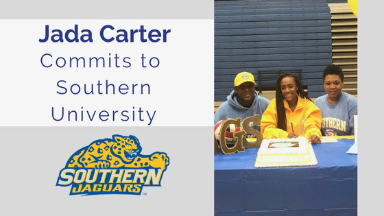 jada carter blocksport volleyball club southern university
