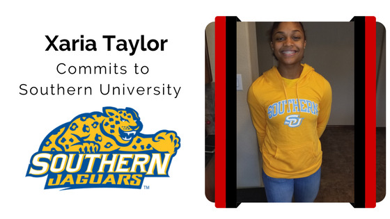 Xaria Taylor blocksport volleyball club southern university